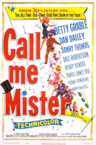 Watch Call Me Mister Online