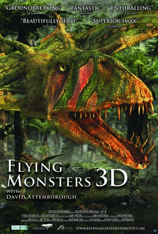 Watch Flying Monsters 3D with David Attenborough Online