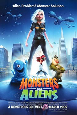 Watch Monsters vs. Aliens Online