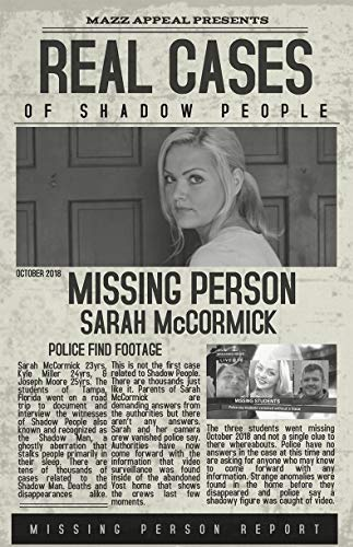 Watch Real Cases of Shadow People The Sarah McCormick Story Online