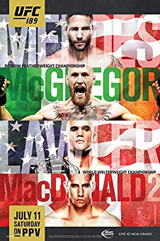 Watch UFC 189: Mendes vs. McGregor Online
