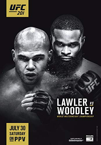 Watch UFC 201: Lawler vs. Woodley Online