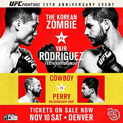 Watch UFC Fight Night: Korean Zombie vs. Rodríguez Online